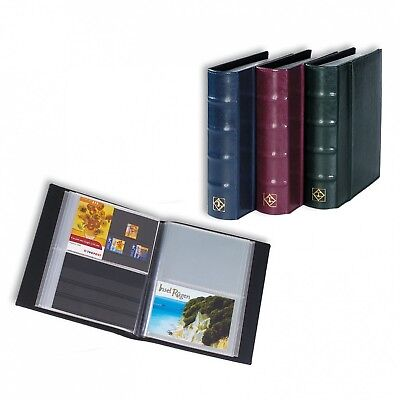 Lighthouse Postcard Album With 50 Clear Pockets Hold Up To 200 Cards