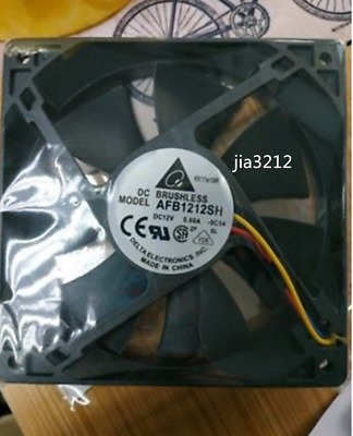 DELTA AFB1212SH 120*120*25mm 12V 0.8A 4pin PWM Case Cooling Fan #JIA