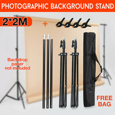 Photo Video Studio Backdrop Photography Background Support Stand Frame 2.5x3m