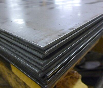 STEEL SHEET/PLATE 4mm THICK - 1000mm X 500mm (OR CAN BE LASER CUT TO SHAPE)