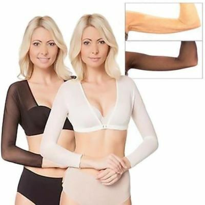 New Women Plus Size Seamless Arm Shaper AU Fast and Free Shipping
