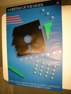 Ashton-Tate First Annual Developer's Conference Poster 1986