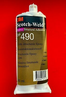 3M™ Scotch-Weld™ EPX High Performance Epoxy Adhesive DP490 Black 50ml ⭐️