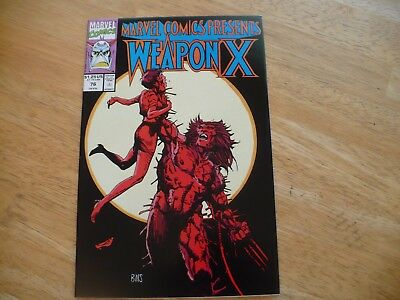 Marvel Comics Presents #76(9.0 Vf/nm)1991-Hi Grade-Wolverine In The 5Th Weapon X