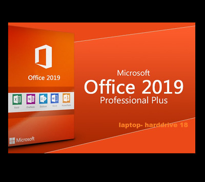 Office 2019 professional Plus Key 32 /64Bit Download License For 1PC Genuine