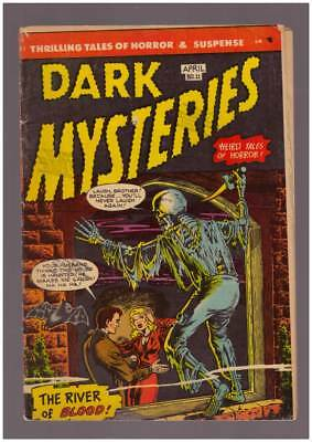 Dark Mysteries # 11  The River of Blood !  grade 4.0 scarce Master book !