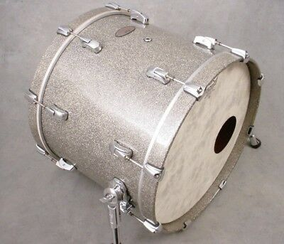 PEARL REFERENCE SERIES 16x20 GRANITE SPARKLE BASS DRUM, MINTY