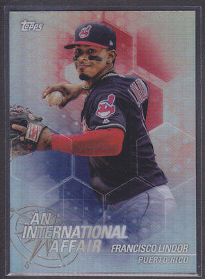 Topps - Chrome Update 2018 - IA-FL - Francisco Lindor - Cleveland Indians