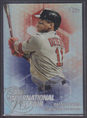 Topps - Chrome Update 2018 - IA-RD - Rafael Devers - Boston Red Sox
