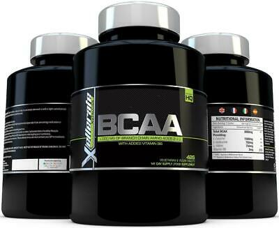 BCAA Tablet 1000mg 425 Tablets - 2:1:1 Branch Chain Amino Acids 141 Day Supply