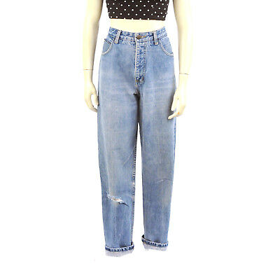 Vintage 80s Guess Georges Marciano High Waist Tapered Leg Denim Jeans 32