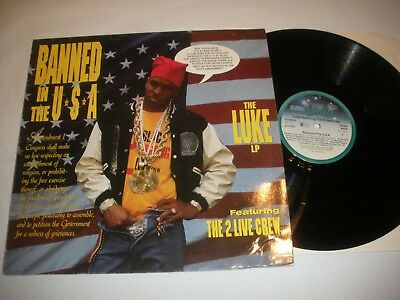 Luke best. The 2Live Crew--Banned in the USA--LP