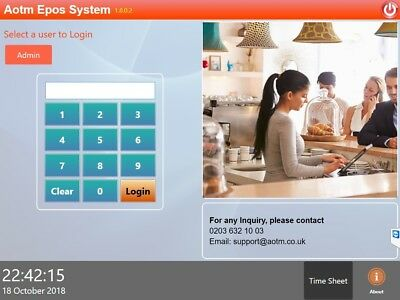 POS Software for Restaurant, Bar, Coffee Shop, Takeaway, Delivery & Off licence