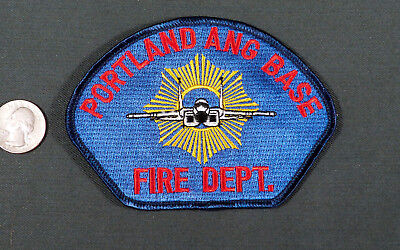PORTLAND OR ANG AFB Fire Department Patch Air National Guard