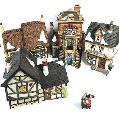 Huge Department 56 Christmas Village - nearly 300 pieces!