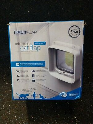 SureFlap DualScan Microchip Cat Flap Door - (Never Used or Installed)