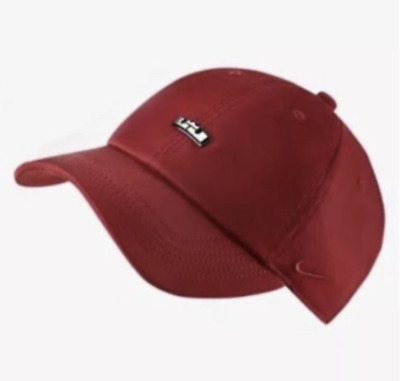 NIKE Dri-Fit Lebron James H86 AEROBILL ADJUSTABLE HAT AA3927 010 Heritage  Wine 51339be54d9