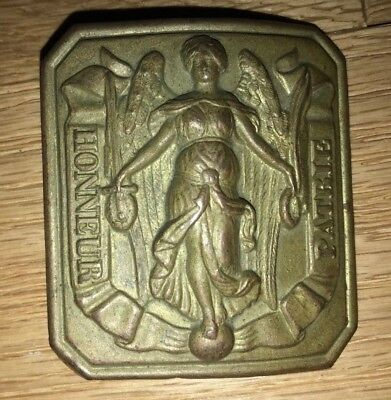 French  Non Commissioned Officer's belt  buckle  ww 1 or  earlier