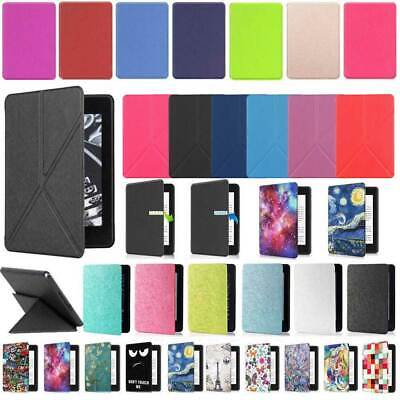 For Amazon Kindle Paperwhite 4 10th Gen 2018 Various Leather Smart Cover Cover