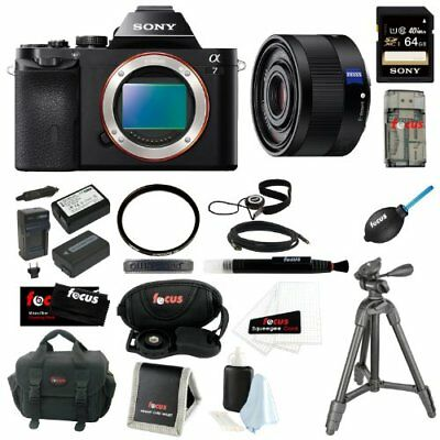 Sony ILCE-7/B 24.3MP a7 Interchangeable Lens Camera(Body)with Sony 35mm Lens Kit