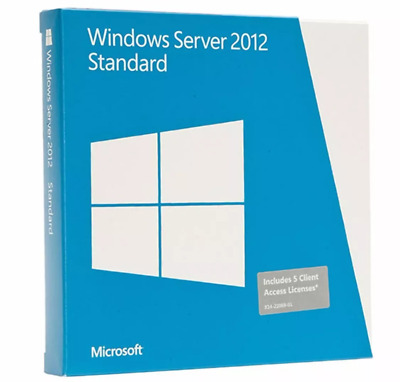 Microsoft Windows Server 2012 Standard Original  key- Clave