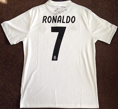 Cristiano Ronaldo Authentic Signed Real Madrid 2018/2019 Shirt Aftal#198