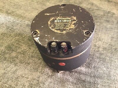 Vintage Pioneer High Frequency Driver, PD-801, Estate item. For parts or Repair.