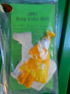 2003  LIEUTENANT KING CAKE BABY  feve HIGHLY COLLECTABLE HAYDELS MARDI GRAS