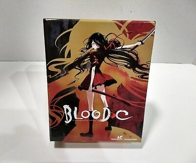 Blood-C: The Complete Series Limited Edition (Blu-ray/DVD, 2013, 4-Disc Set)