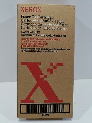 Xerox Fuser Oil Cartridge DocuColor 12 Document Centre ColorSeries 50 8R7975 New