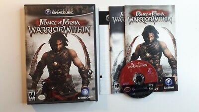PRINCE OF PERSIA WARRIOR WITHIN Gamecube Complete CIB - FREE SHIPPING !!