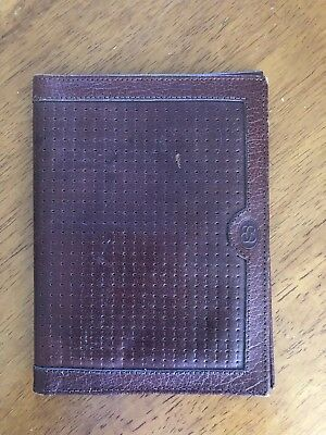 1970's Vintage Buxton Leather Card Wallet - Tan