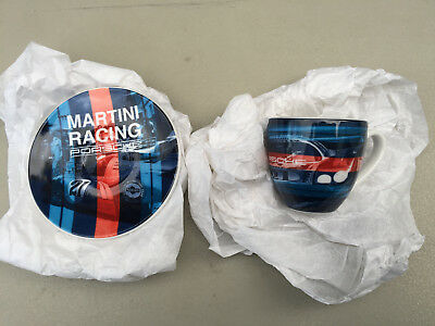 Martini Racing Porsche 917 Long Tail Espresso Cup & Saucer Set Limited To 5000