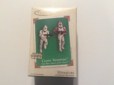 Star Wars Clone Troopers - Hallmark Keepsake Ornament - 2003 miniatures