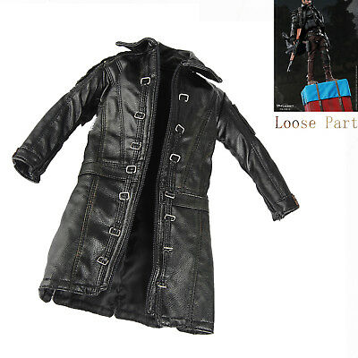 """FLAGSET FS-73012 1/6th Doomsday Survivors Leather Coat For 12"""" Action Figure"""
