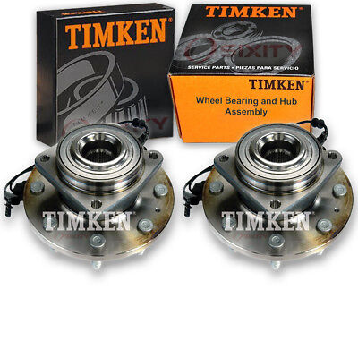 Timken Rear Wheel Bearing & Hub Assembly for 2013-2017 Ford Escape Pair Left dr