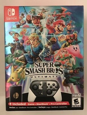 NEW Super Smash Bros. Ultimate Special Edition Nintendo Switch - Free Shipping