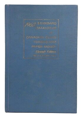 Vintage 1963 Standard Catalogue Canadian Coins Tokens Paper Money 11th Ed I026