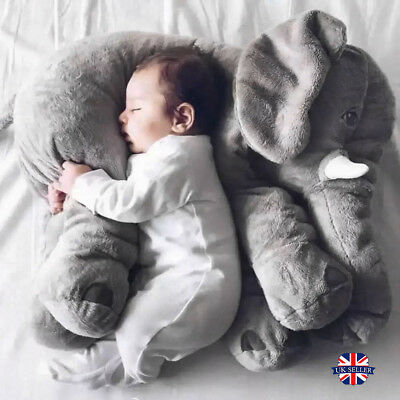 New Plush Soft Stuff Toys Baby Children Gift Nose Elephant Doll Lumbar Pillow