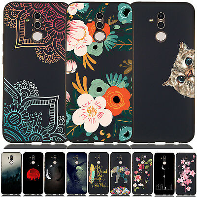 For Huawei Mate 20 Lite/ P20 Lite Pro Slim Soft Silicone Painted TPU Case Cover