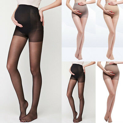 Maternity Tights High Waist Elastic Pregnancy Stockings Pregnant Women Pantyhose
