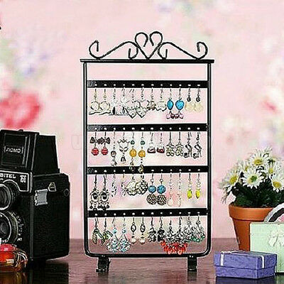 Chic 48 Hole Earrings Ear Studs Display Rack Stand Holder Jewelry Organizer New