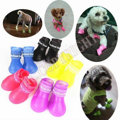 Dog Small Shoes Puppy Cat Boots Socks Booties Nonslip  Waterproof  With Gift