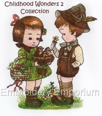 Childhood Wonders Collection 2 - Machine Embroidery Designs On Cd