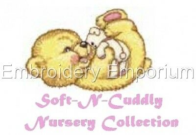 Soft-N-Cuddly Nursery Collection - Machine Embroidery Designs On Cd