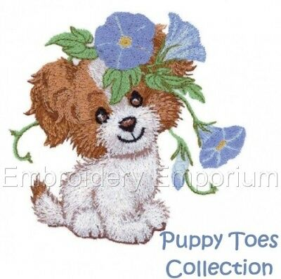 Puppy Toes Collection - Machine Embroidery Designs On Cd