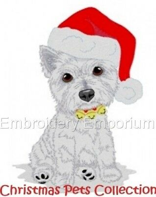 Christmas Pets Collection - Machine Embroidery Designs On Cd