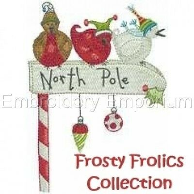 Frosty Frolics Collection - Machine Embroidery Designs On Cd
