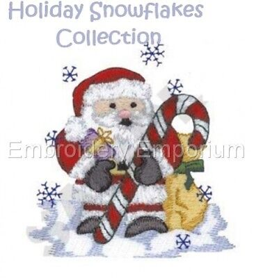 Holiday Snowflakes Collection - Machine Embroidery Designs On Cd