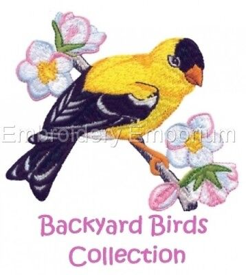 Backyard Birds Collection - Machine Embroidery Designs On Cd